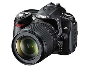 Nikon D90 Appareil photo numérique Reflex 12.3 Kit Objectif AF-S DX VR 18-105 mm Noir