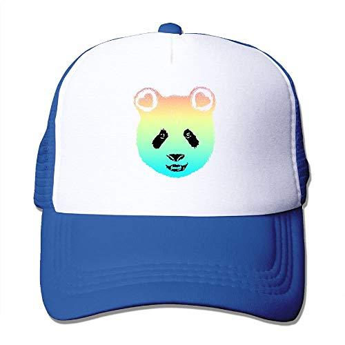 e66f56aa402e9 Zcfhike Arco Iris Adulto Panda Galaxy Billar Plano Sol Cap Sombreros Negro  Unisex40