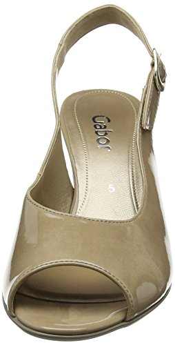 Gabor Shoes 61.831, Sandali con Tacco Donna Beige (Beige 74)