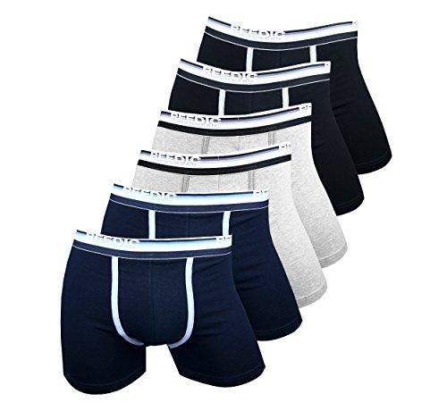 reedic-herren-boxershorts-baumwolle-6er-pack-grosse-xxx-large-3xl-farbe-je-2x-schwarz-grau-dunkelbla
