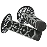 Scott Diamond MX Motorrad Griffe inkl. Donut schwarz/weiss