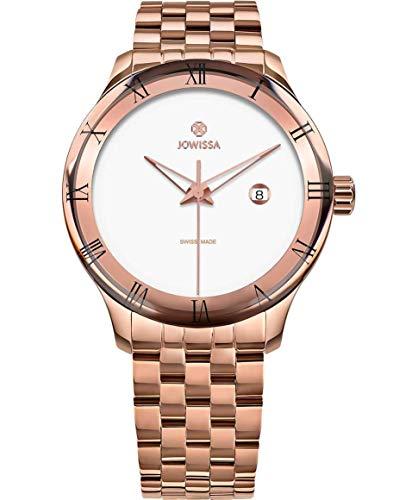 Jowissa Romo Swiss J2.232.L - Reloj para Hombre, Color Blanco y Rosa