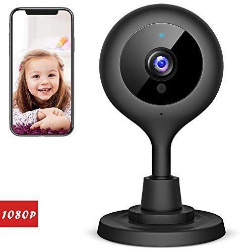 Victure 1080P FHD Babyphone mit WLAN IP Kamera Überwachungskamera Kamera mit Nachtsichtfunktion Sounderkennung Bewegungserkennung 2-Wege Audio Indoor Sicherheitskamera für Baby/Ältere/Haustier