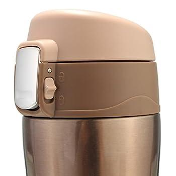 Thermosflasche,camtoa Thermoskanne Trinkflasche Edelstahl 500ml Tragbarer Tee Kaffeeheißgetränk Tasse Für Laufen, Fitness, Yoga, Auto Camping, Reisen, Fischen-führer. 11