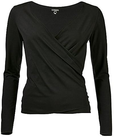 ESMARA® Damen Yoga-Jacke (schwarz, XS - 32/34)