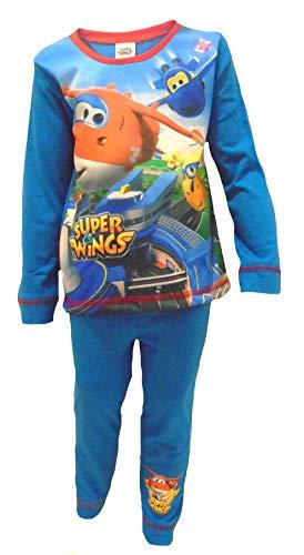 Jungen Offiziell Lizenzierte Super-Flügel Long Length Pyjamas Alter 2-3 Jahre (Herr Flügel Pjs)