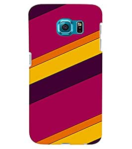 Citydreamz Colorful Diagonal Stripes Hard Polycarbonate Designer Back Case Cover For Samsung Galaxy Note 5