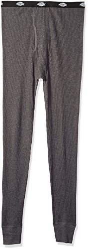 Dickies Men's Big Classic Thermal Waffle Pant, Charcoal Grey, Large/Tall (Dickies Thermal)