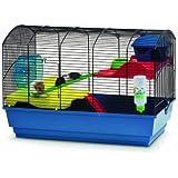 Savic Cambridge Hamsterkäfig, 62 x 36 x 43 cm, marineblau