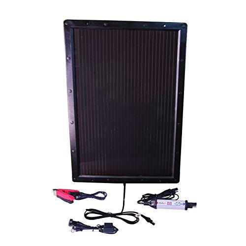 TecMate OptiMATE SOLAR + 6W Solar-Panel TM524, Solar-Impulsladegerät, Test- & Wartungsladegerät für 12V-Batterien, mit 6W-Solar-Panel