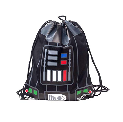 Star Wars Gym Bag Darth Vader Outfit Sith Lord Nue offiziell Schwarz ()