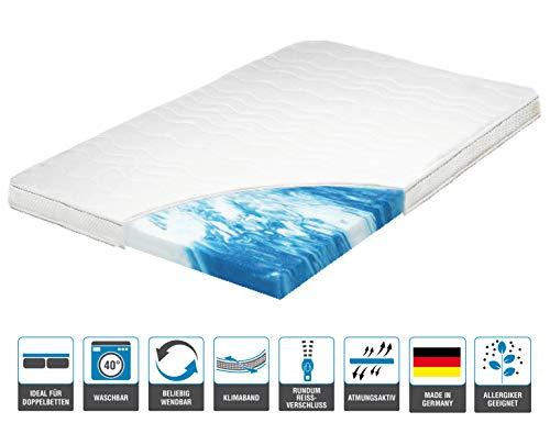 ARBD Topper, Matratzenauflage, Kaltschaum, 7cm - XL10cm - XL Wave 10cm - XXL Rave 12cm, alle Größen - Schlafen wie auf Wolken H2 + H3 ... (H2 XL - 10cm, 100x200)