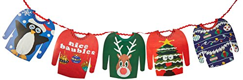 Preisvergleich Produktbild Christmas Entertainment Ugly Sweater Garland