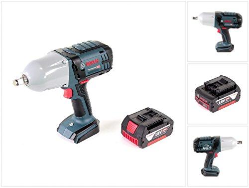 Preisvergleich Produktbild Bosch GDS 18 V-LI HT Professional Akku Drehschlagschrauber + 1x Bosch GBA 18 V 4,0 Ah Akku - ohne Ladegerät