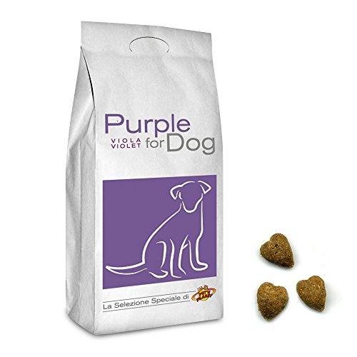 Pet's Planet Purple for Dog Croquettes de Petites Dimensions pour Chiots et Chiens Adultes, 12 Kg