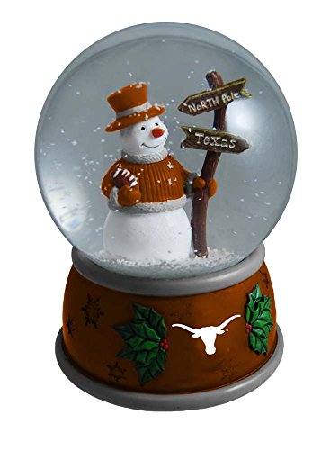 Memory Company NCAA University of Texas at Austin Christmas Snow Globe, One Size, Multicolor