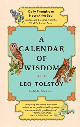 A Calendar of Wisdom: Daily Thoughts to Nourish the Soul, Written and Se (English Edition)