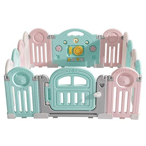 Liu Weiqin Valla de Juegos for niños Vallado for bebés y niños...