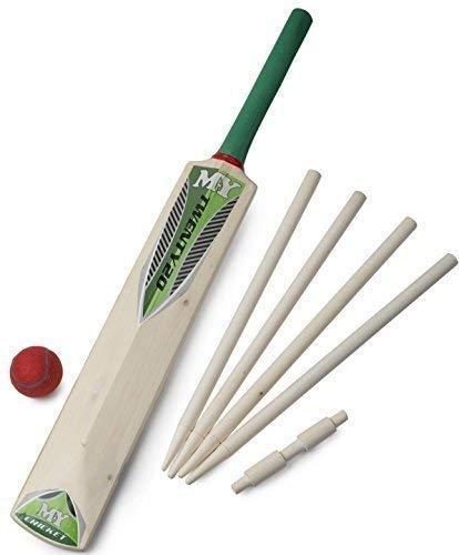 Cricket Set in Netztragetasche - Größe 5