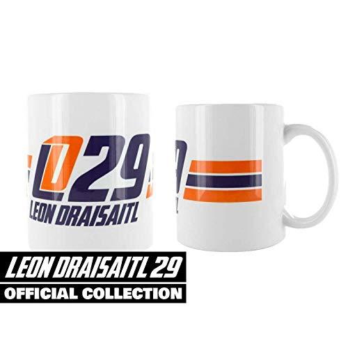 Scallywag® Eishockey Tasse Leon Draisaitl I A BRAYCE® Collaboration (Kaffeetasse als Hockey Geschenk vom NHL Edmonton Oilers Star)