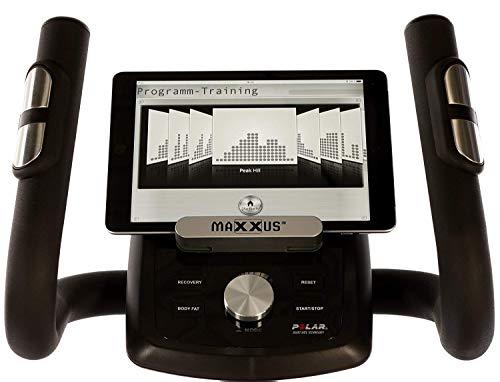 MAXXUS® CROSSTRAINER CX 6.1 – Ellipsentrainer, kostenlosem Versand. flacher, elliptischer Bewegungsablauf mit großer Schrittlänge für einen gesunden Lauf. Trainingsprogramme, HRC-Programme, Smartphone-Tablet-Halterung, elektr. gesteuerte Magnetbremse, robuste Konstruktion - 9