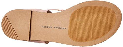 Chinese Laundry Galactic Damen Faux Wildleder Gladiator Sandale rosa oscuro