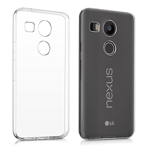kwmobile LG Google Nexus 5X Hülle - Handyhülle für LG Google Nexus 5X - Handy Case in Transparent