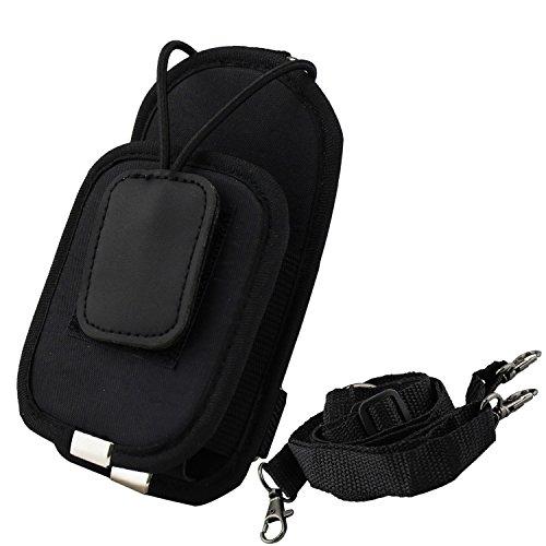 KEESIN Universal ajustable walkie talkie bolsa de dos vías caja de la caja del teléfono titular de la caja de bolsas de mano cubierta de la funda(Medio)
