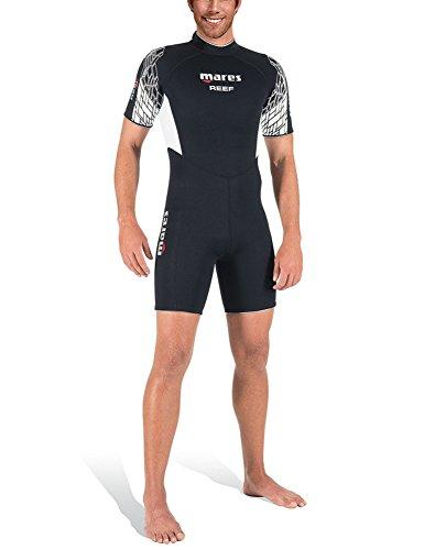 Mares Herren Shorty Reef 2.5 Wetsuit, Black, S6