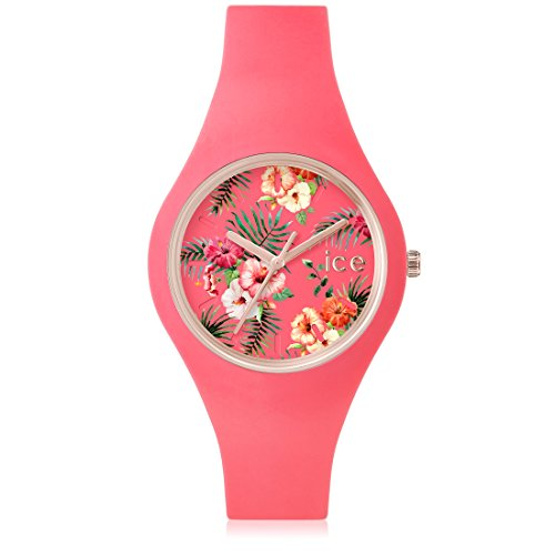 ICE-Watch Flower - Reloj para mujer, color multicolor / rosa
