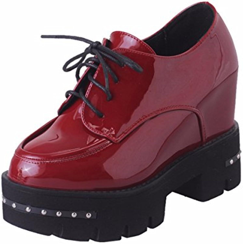 KPHY-Chaussures pour femmesDes Chaussures De Femme Automne Deep Deep Automne Bouche Laque Pente De 10 Cm De Talon De Chaussures...B07F89ZRB9Parent b36071