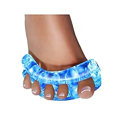 YogaToes Zehentrenner, für eine natürliche Pflege der Füße, klein, Blau