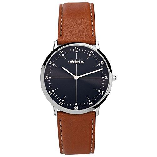 Michel Herbelin City Men's Watch 16815Brown/Silver/Black/03GO