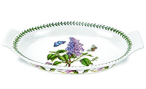 Portmeirion Botanic Garden Oval Gratin Dish, Large Portmeirion Botanic Garden Serveware