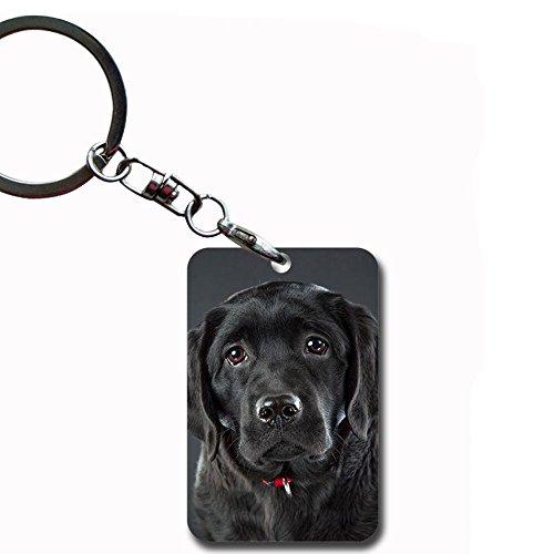 Babu Building Drucken Labrador Retriever Zum MDF Key Ring F¨¹r M?dchen MDF-Material Keychain Remote Kit
