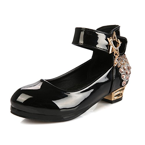 Nil Prinzessin Kostüm - YIBLBOX Mädchen Kinder Gute Qualität Schuhe Prinzessin Schuhe Sandalen für Mädchen Kostüm Party Geburtstag