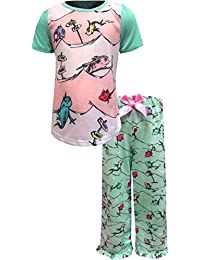 0bafd304e Komar Kids Girls' Dr Seuss One Fish Two Fish Pastel Toddler Pajamas