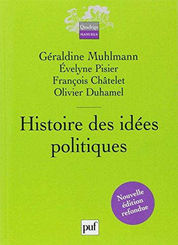 Histoire des idées politiques par Géraldine Muhlmann