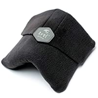 trtl Pillow - Scientifically Proven Super Soft Neck Support Travel Pillow – Machine Washable Black