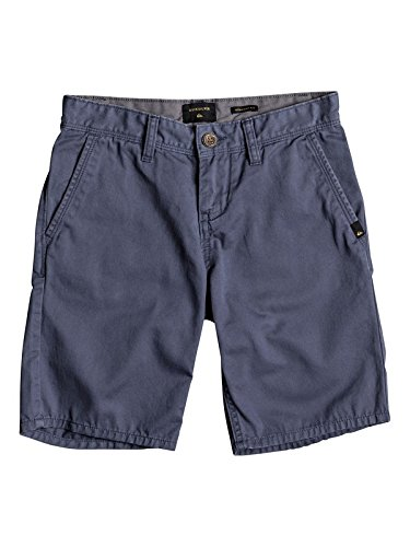 Quiksilver Jungen Everyday Light Shorts, Vintage Indigo - Solid, Size 25/10 (Shorts Vintage Jungen)