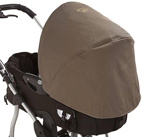 Babies Deluxe 51 Sun Canopy Bugaboo en cuir beige