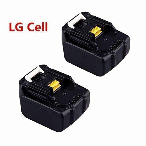 2X 14.4V 3.0Ah Ersatz Akku für Makita BL1430 BL1415 Batterie Lithium-Ion Werkzeugakkus (LG Zelle)