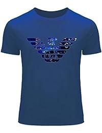 Armani Logo Diy Printing For Men's T-shirt Tee Outlet
