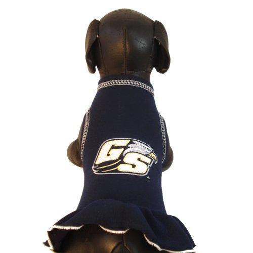 All Star Dogs NCAA Georgia Southern Eagles Cheerleader Hund Kleid, Tiny