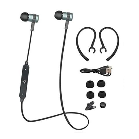 Ouneed® Bluetooth Headphones Sans Fil Stereo Ecouteurs Music Casque