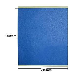 AptoFun 5pcs hochwertige 3D Druckpapier für 3D Drucker Heizbett / Druckbett in Blau