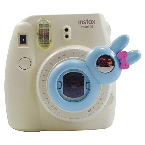 SAIKA Selfie Objektiv-Nahaufnahme-Objektiv für Fujifilm Instax Mini 9 8 8+ Mini-7s Sofortbild-Kamera mit Objektiv-Reinigungstuch (Blau) (Polaroid-kamera-objektiv-filter)