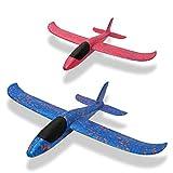 2-OYSS DIY Hand Throwing Foam Airplane Toys, Glider Toy Airplane/ Glider Throwing Model