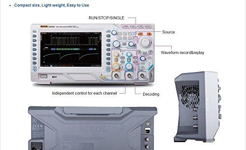 Gowe ds2000a Serie Digital-Oszilloskop 2G SA/S Bandbreite 70MHz 20,3cm TFT WVGA Oszilloskop 50.000WFS/S 14MPT-Helmschale Ds2000-serie