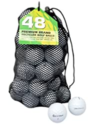 TaylorMade Penta - Lote de 48 pelotas de golf, grado A, recuperadas